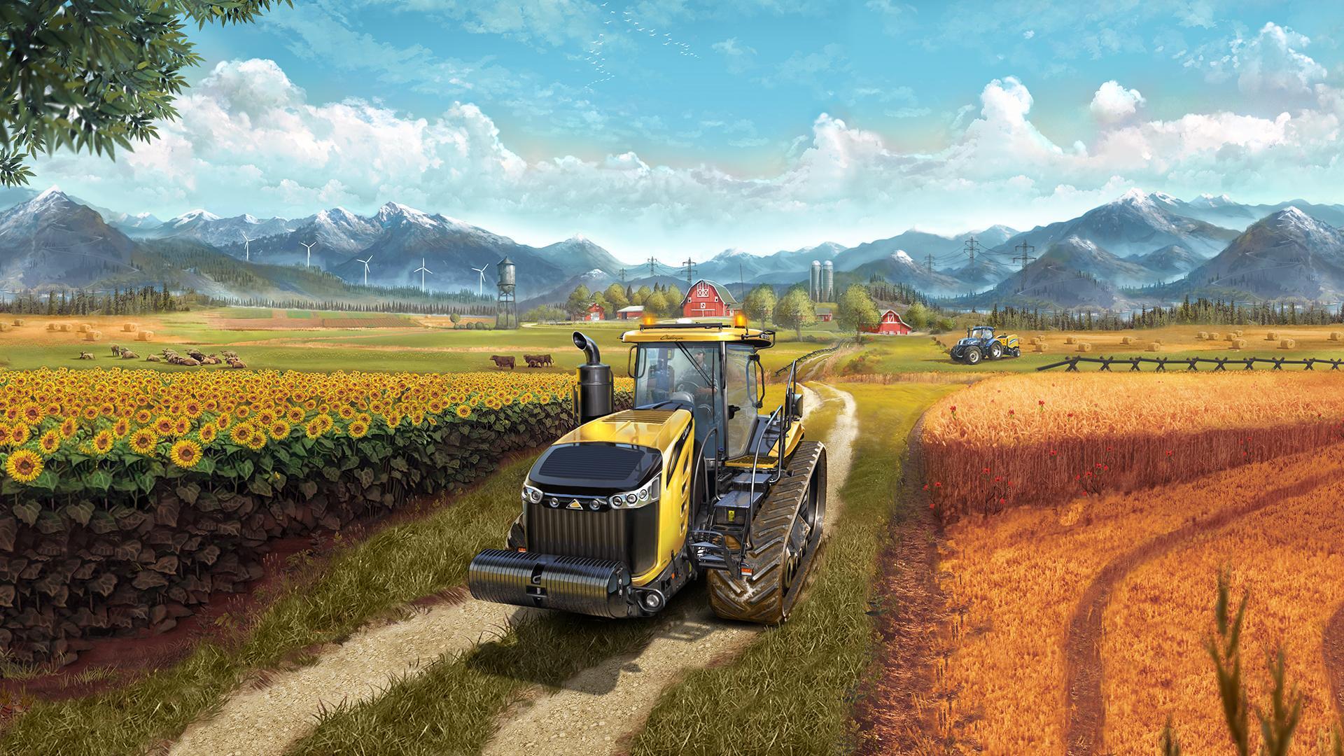 Farming Simulator 17 — чит на бесконечные деньги (бесплатно)