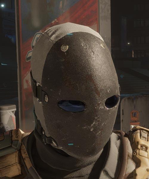 Stygian Face Mask
