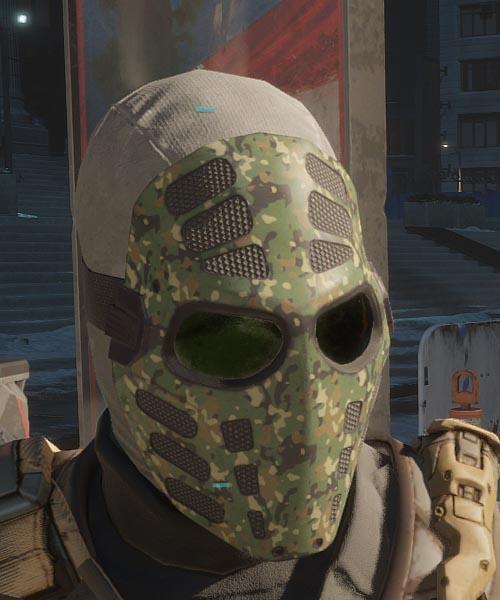 Jungle Face Mask