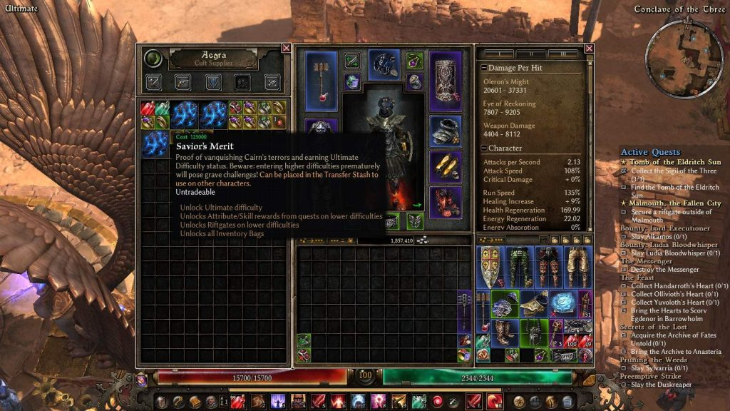 Grim Dawn elite