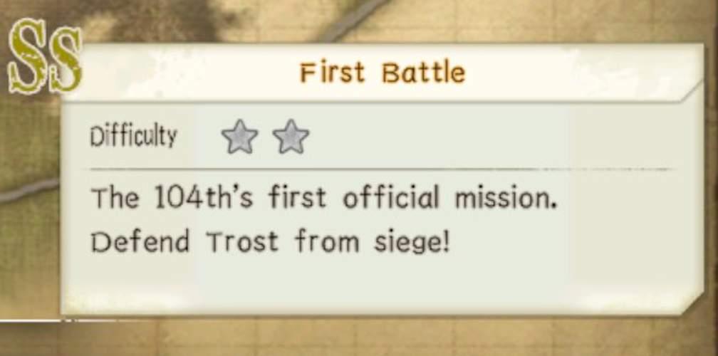 Миссия Мины и Томаса - Первая битва