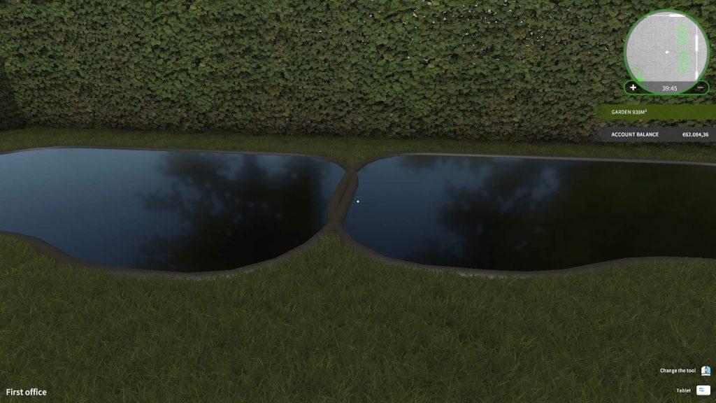 House Flipper пруды