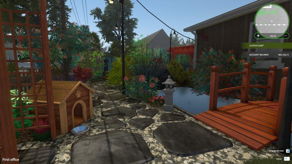 House Flipper симпатичный сад
