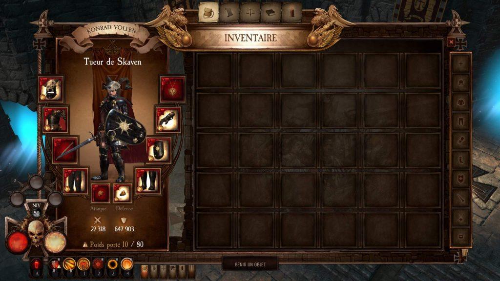 Warhammer Chaosbane снаряжение