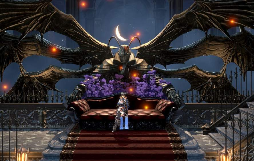 Bloodstained Ritual of the Night — полная карта игры