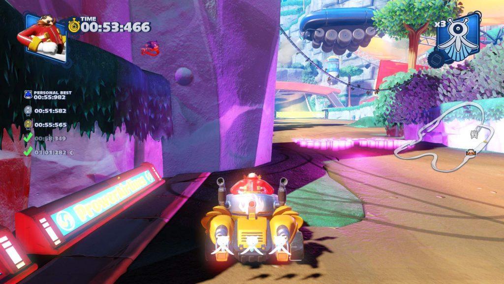 соник Team Sonic Racing