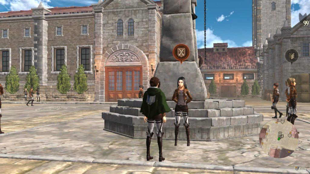 Спасение мертвых персонажей в Attack on Titan 2