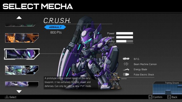 HARDCORE MECHA - Redeem Codes for Unlocking Mechs and Pilots for Multiplayer