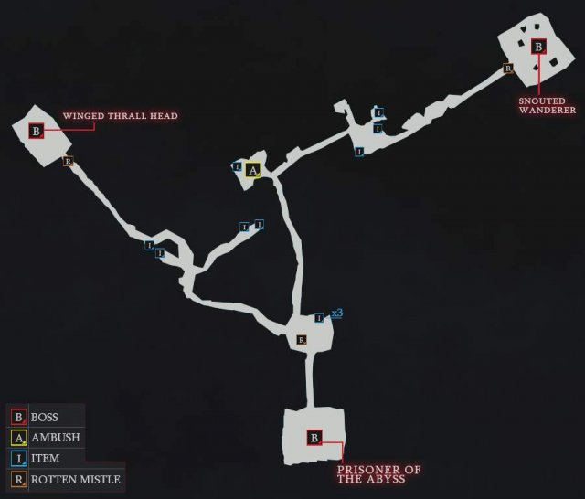 Code Vein карта