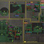 Resident Evil 0 - карта по всем 100 пиявкам / leeches