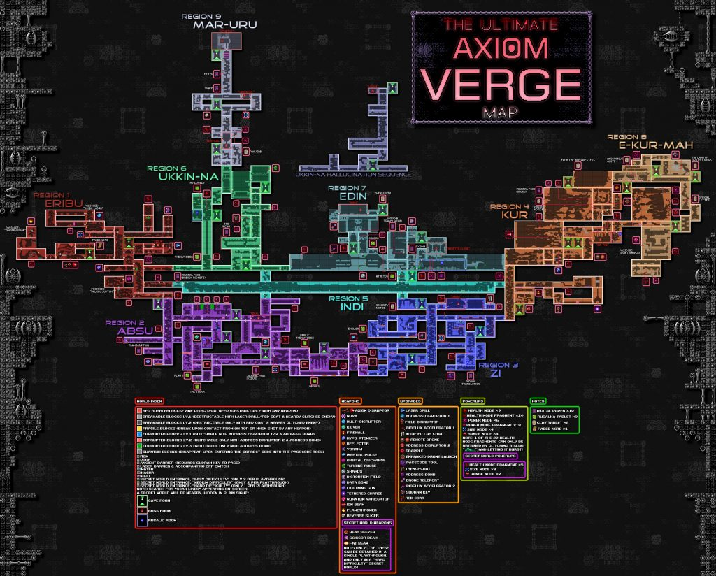 карта Axiom Verge