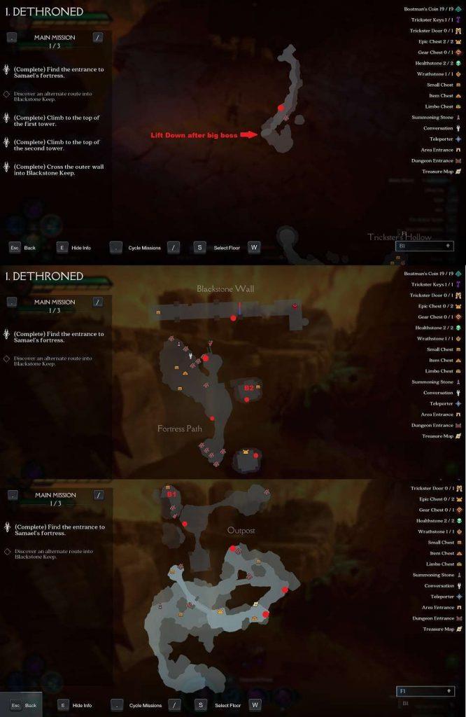 карта квеста darksiders