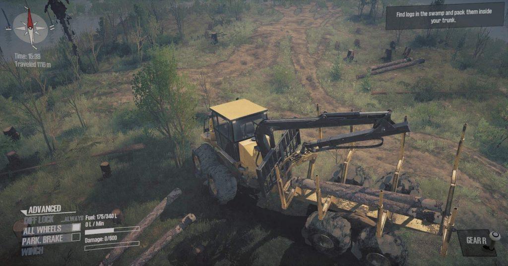 MudRunner -  как получить достижение Крановщика 2 (Crane Operator II)