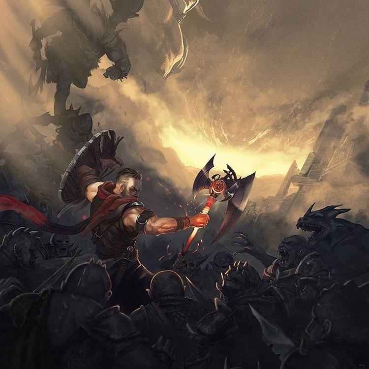 Wolcen Lords of Mayhem - файл сохранения для тестирования всех билдов