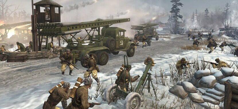 Company of Heroes игра на пк