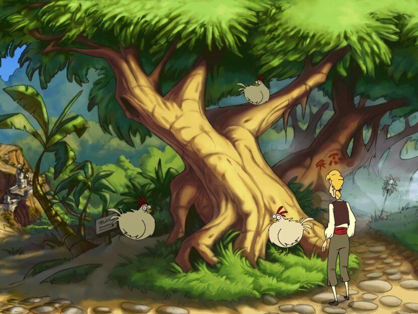 The Curse of Monkey Island игра