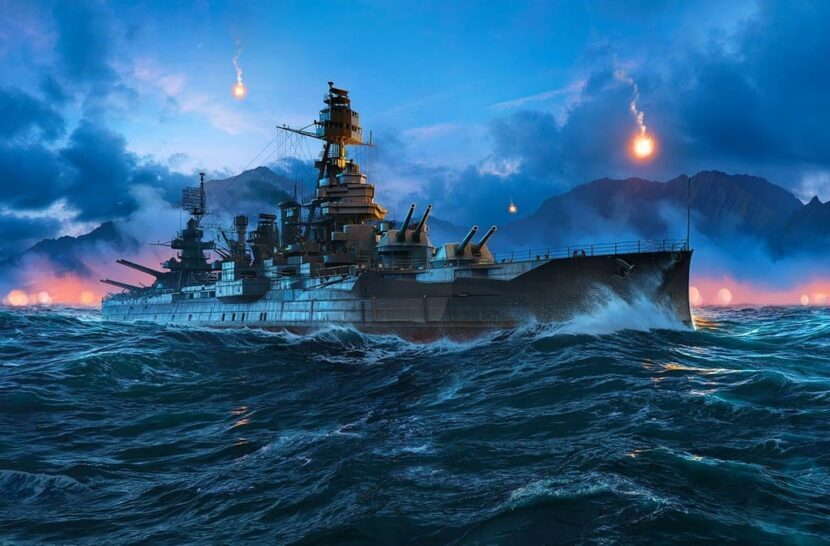 WORLD OF WARSHIPS онлайн игра