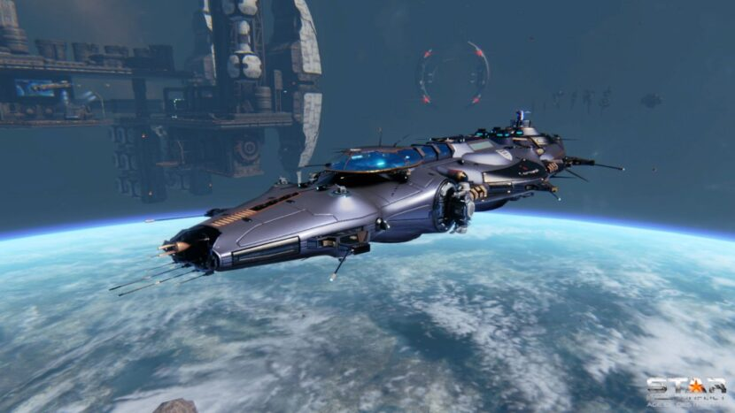 STAR CONFLICT компьютерная игра космический симулятор
