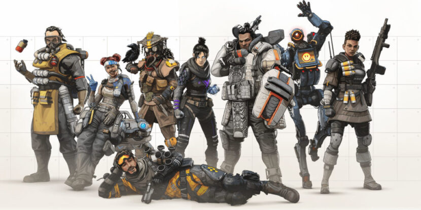 Apex Legends игра онлайн герои
