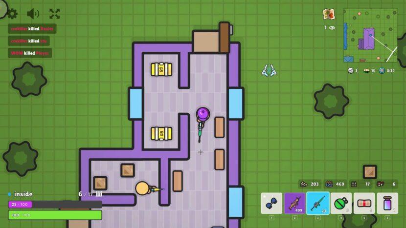 ZombsRoyale.IO игра онлайн