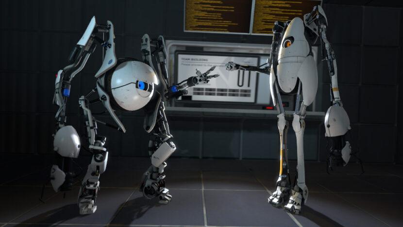 Portal 2 кооператив