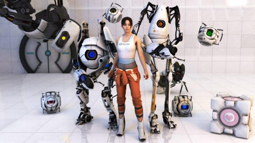 Portal 2 кооператив головоломка