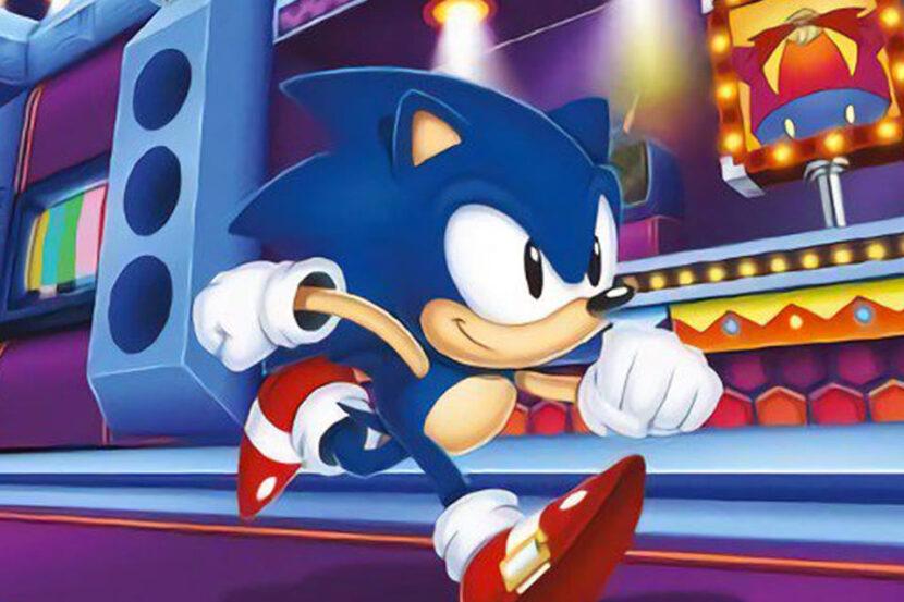 Sonic Mania платформер
