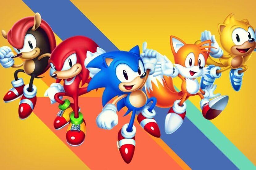 Sonic Mania платформер игра