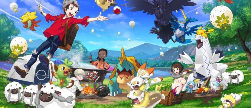 3. Pokémon Sword and Shield