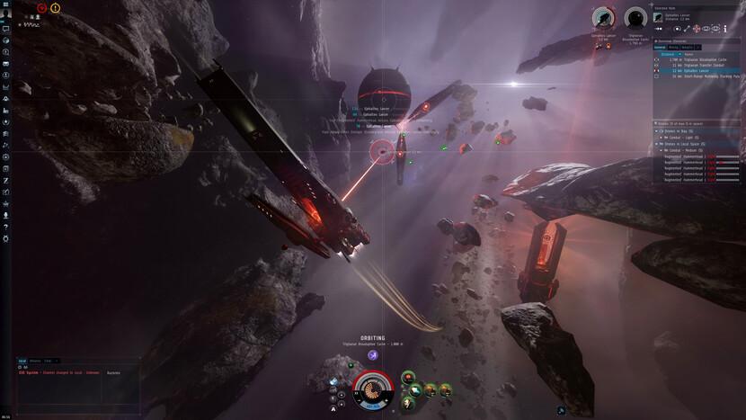 Eve Online, сражение