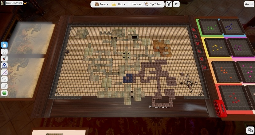 Dungeons & Dragons в Tabletop Simulator