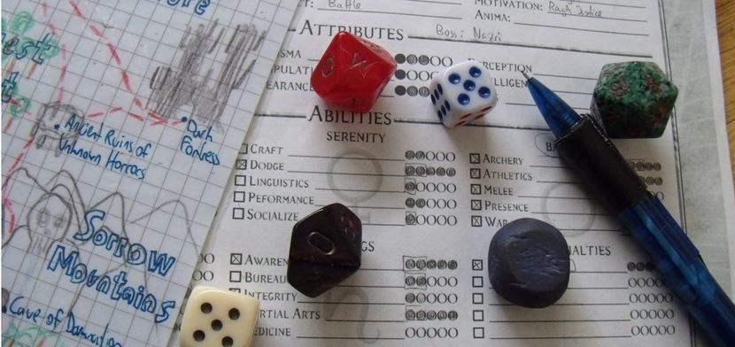 D&D характеристики персонажей