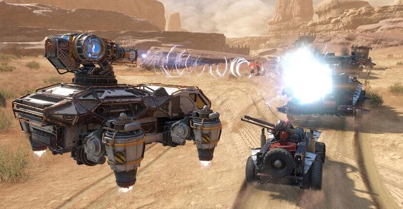 Crossout MMO