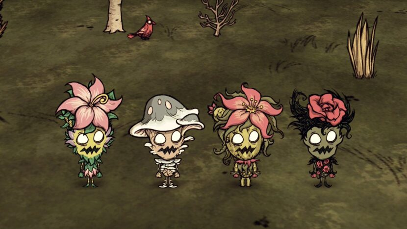 Don't Starve Together игра