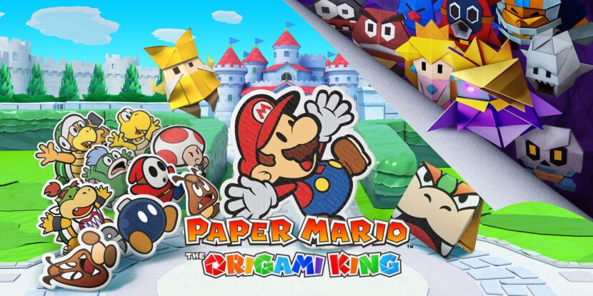 4. Paper Mario: The Origami King