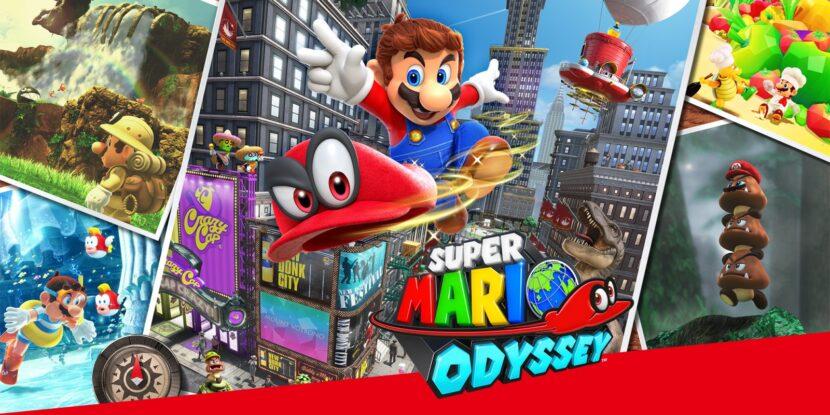 6. Super Mario Odyssey
