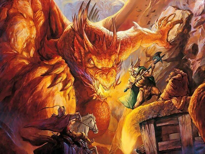 Арт по Dungeon & Drangons