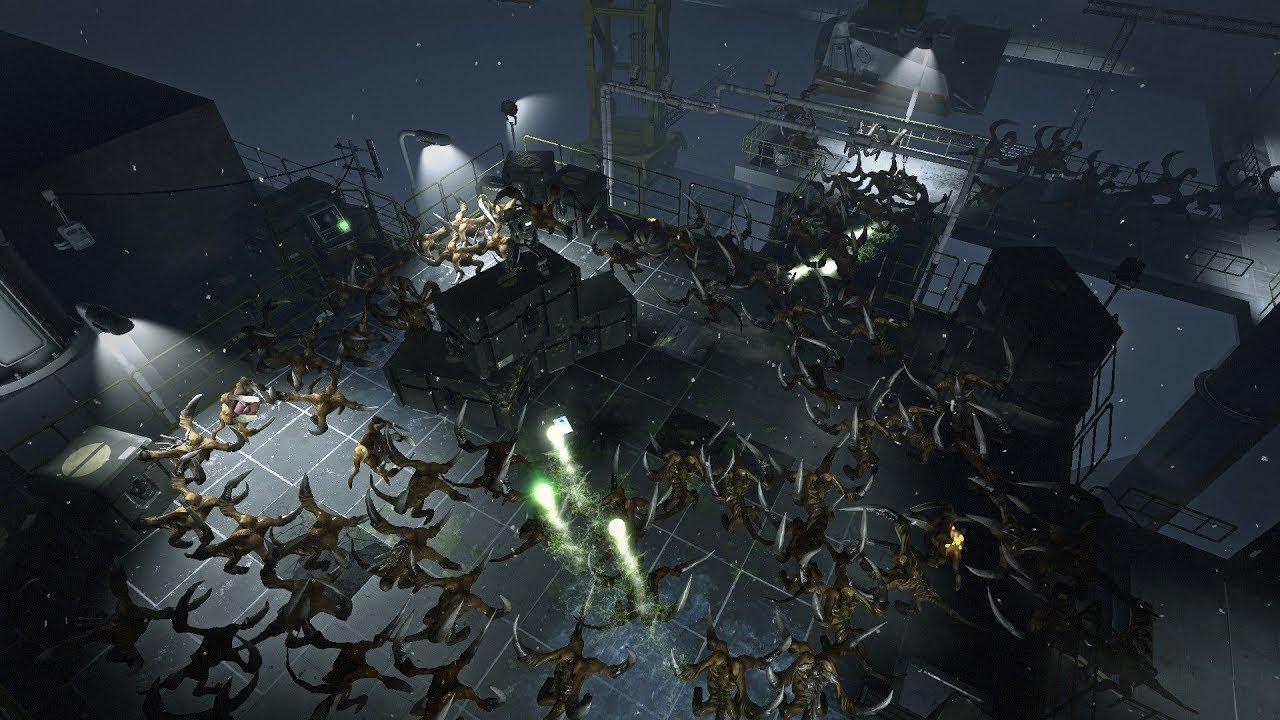 Alien Swarm: Reactive Drop на пк