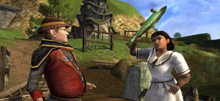 The Lord of the Rings Online лучшее