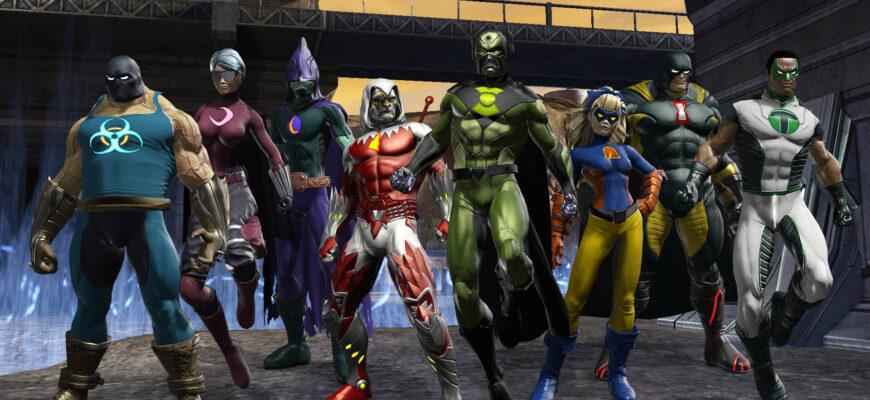 DC Universe Online на пк