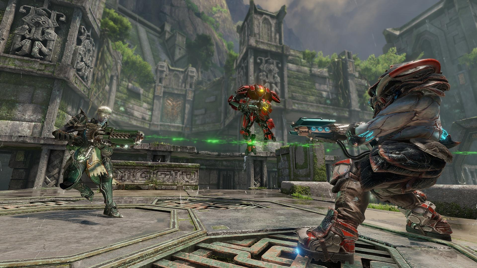 Quake Champions игра на пк