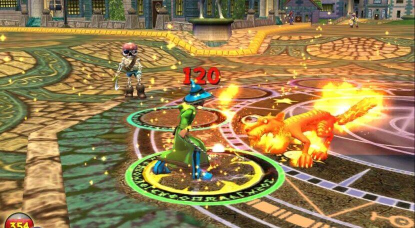 Wizard101 игра
