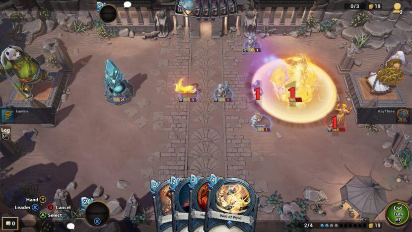 Hand of the Gods: SMITE Tactics игра