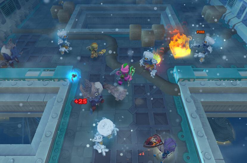 Spiral Knights игра онлайн