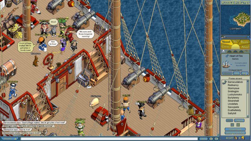 Puzzle Pirates: Dark Seas пк