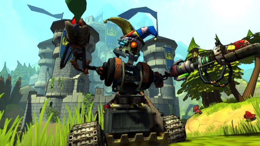 Guns and Robots игра