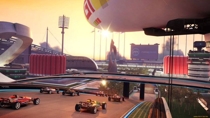 TrackMania Nations Forever игра