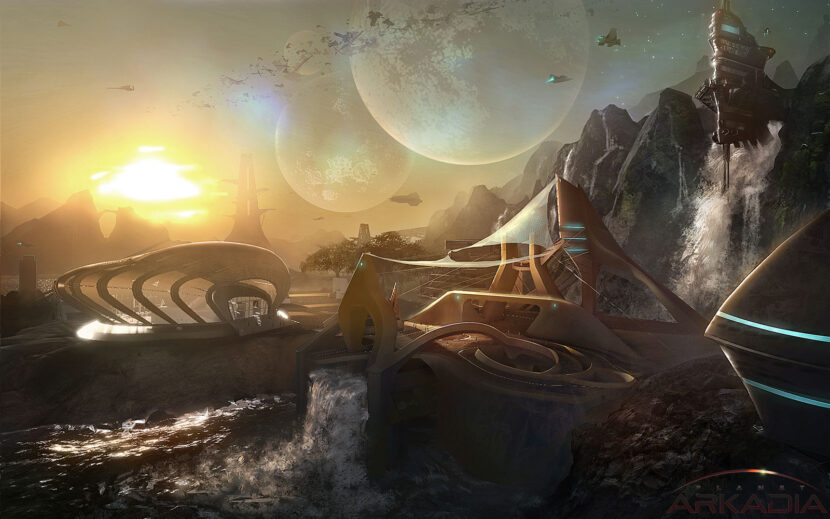 Планета Аркадия онлайн