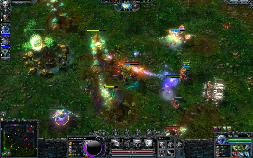 Heroes of Newerth игра