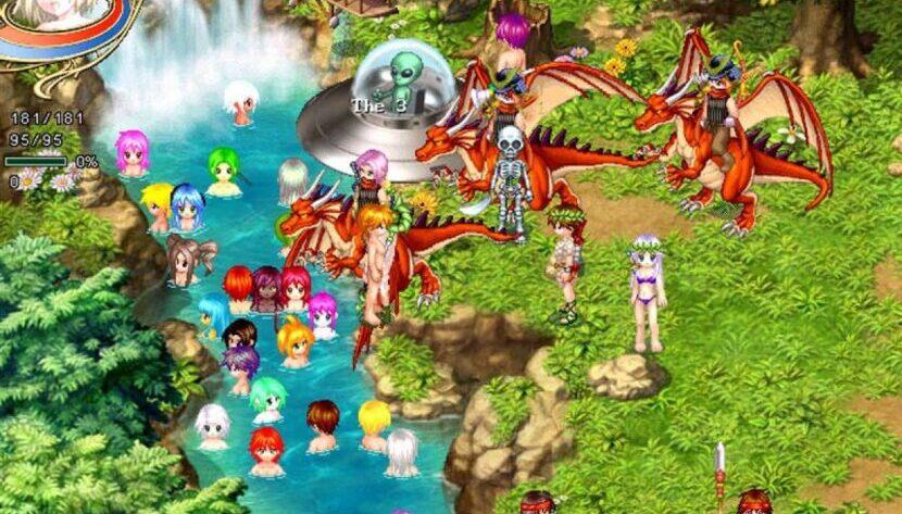 Wonderland Online игра